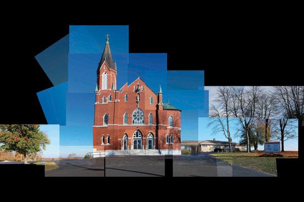 Sacred Heart church, Schnellville, IN